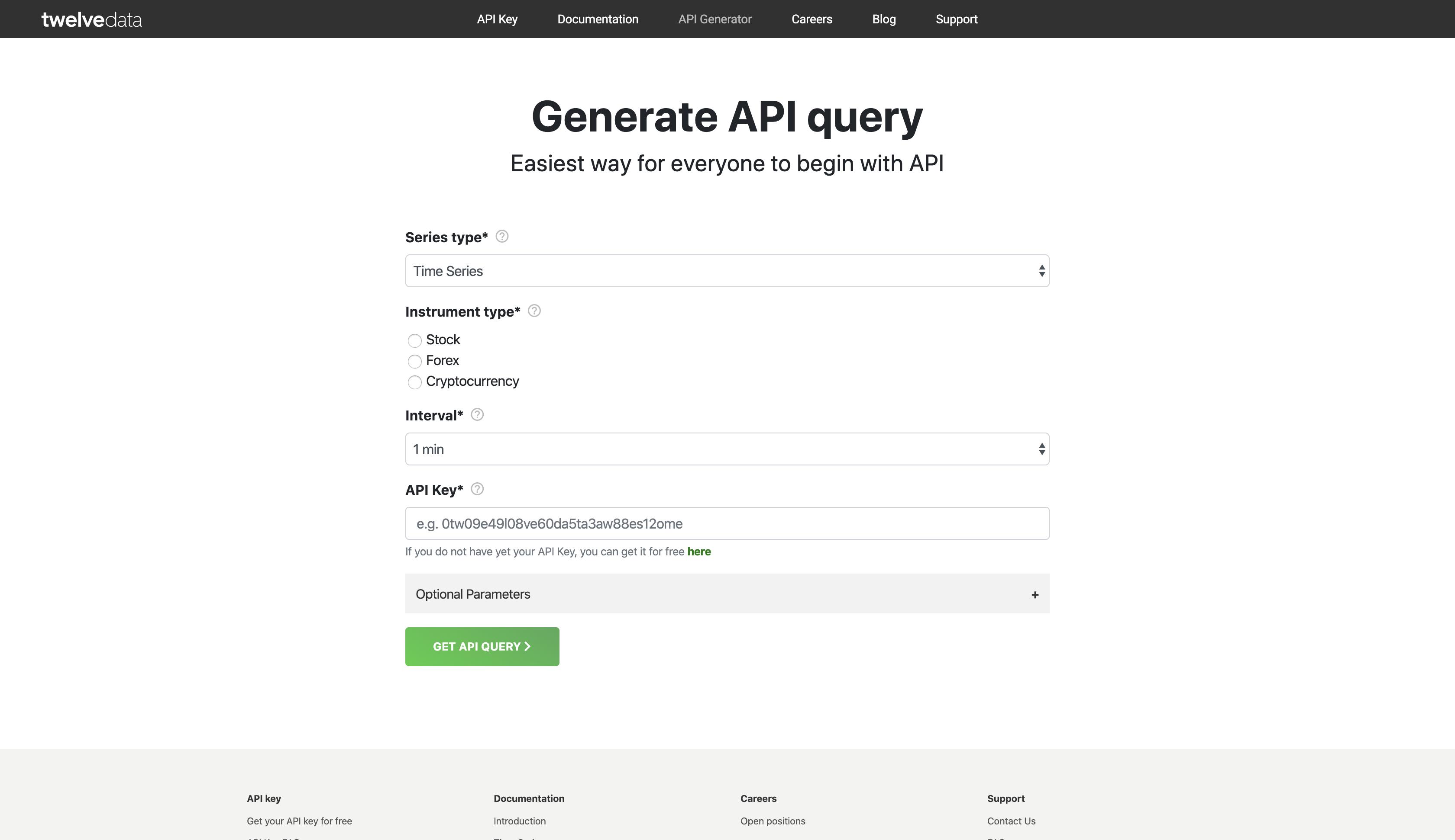 API Query Generator