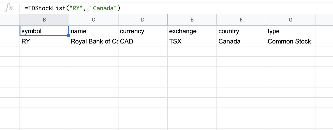 Equity under the RY ticker traded in Canada